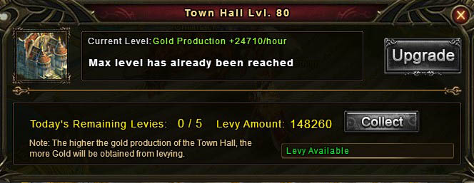 [Patch 5.8] Town Hall alchemy button removed