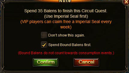 [Patch 5.8] VIP Imperial Seal