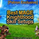 [Patron Exclusive] Best Mage Knighthood Skill Setups
