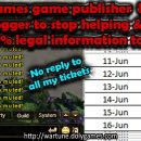 R2Games game publisher harassing blogger
