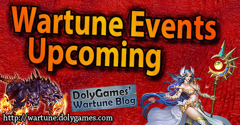 Upcoming Wartune Events