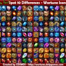 Spot 10 Differences – Wartune Icons 2