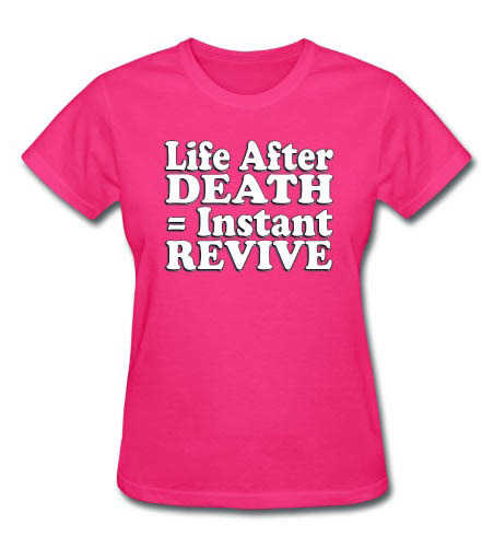 Gamer's Life After Death Women's T-Shirt