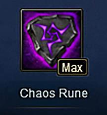 Chaos Rune Max Wartune
