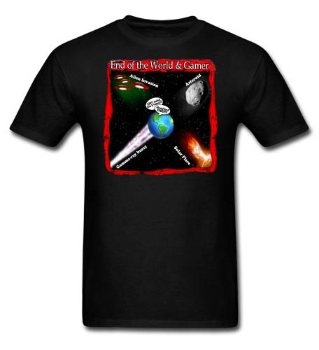 End of World Gamer Men's T-shirt