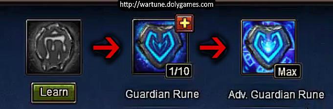 Guardian Rune - Zero to Max