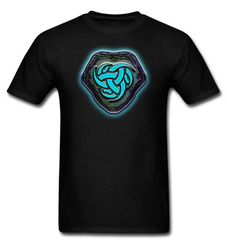 Runestone of Blue Energy Men's T-shirt