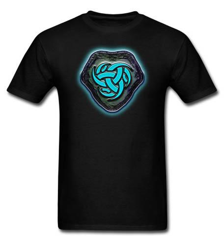 Runestone of Blue Energy Men's T-shirt