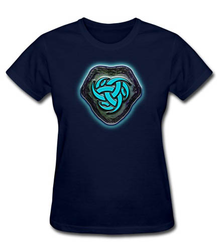 Runestone of Blue Energy Women's T-shirt