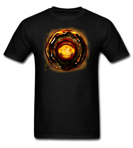 Runestone of Fire Men's T-shirt