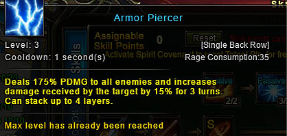 [Wartune Patch 6.1] Armor Piercer Archer Skill