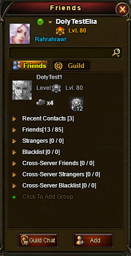 Wartune Patch 6.1 Cross-Server Friends List