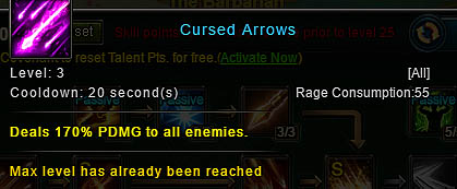 [Wartune Patch 6.1] Cursed Arrows Archer Skill