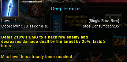 [Wartune Patch 6.1] Deep Freeze Archer Skill