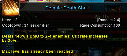 [Wartune Patch 6.1] Delphic Death Star Archer Skill