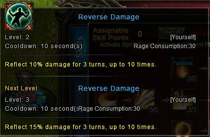 [Wartune Patch 6.1] Knight Skill Reverse Damage