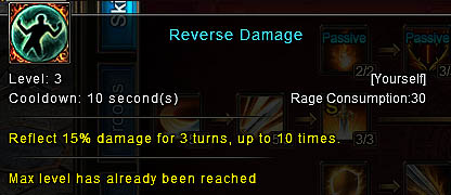 [Wartune Patch 6.1] Reverse Damage Knight Skill