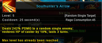 [Wartune Patch 6.1] Soulhunter's Arrow Archer Skill