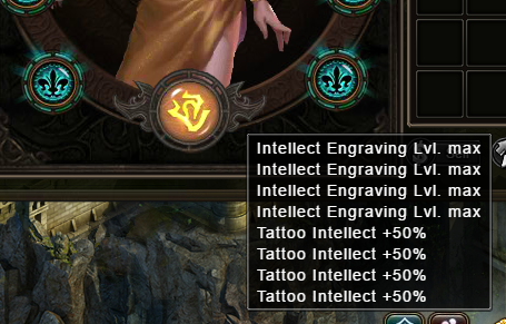 Wartune Patch 6.1 Tattoo Engraving After Unlocking