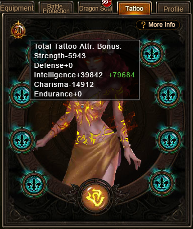 Wartune Patch 6.1 Tattoo Engraving Stats