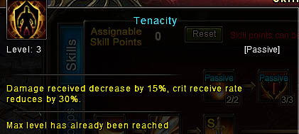 [Wartune Patch 6.1] Tenacity Knight Skill