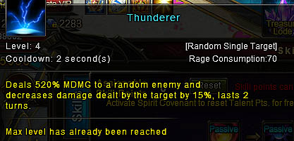 [Wartune Patch 6.1] Thunderer Mage Skill