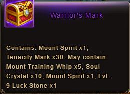 Wartune Patch 6.1 Warrior's Mark