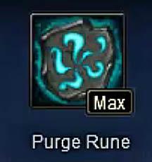 Purge Rune Max Wartune