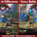Spot 10 Differences – Venus Battle Room