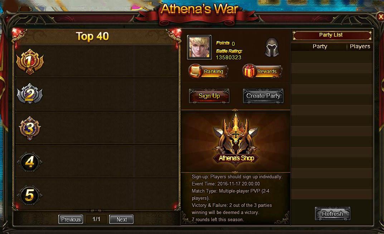 Athena's War Teaser 1