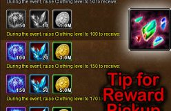 Clothing Engulf event reward tip