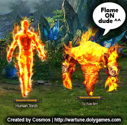 Fantastic 4 Flame On in Wartune