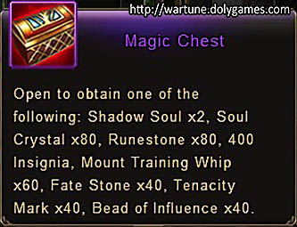 Magic Chest item desc Wartune