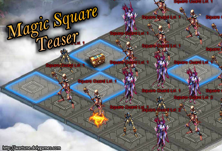Magic Square Teaser 3 interface 2 Wartune
