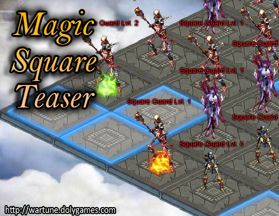 Magic Square Teaser 3 interface 3 Wartune