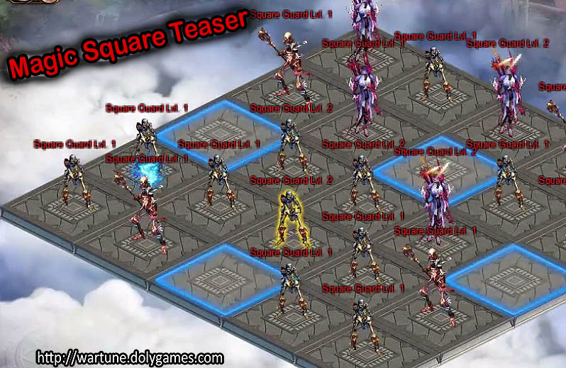 Magic Square dungeon 4 players Teaser Nov 2016 - 2