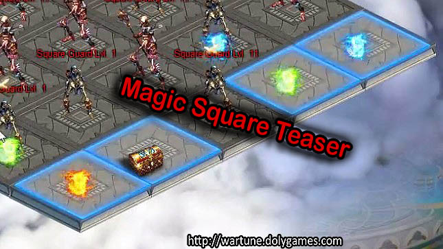 Magic Square dungeon 4 players Teaser Nov 2016 - 4
