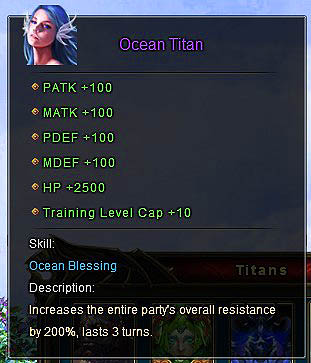 Ocean Titan description Wartune