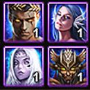 Wartune Titans icons and names