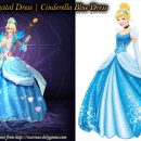 Wartune's Crystal Dress vs Cinderella Blue Dress