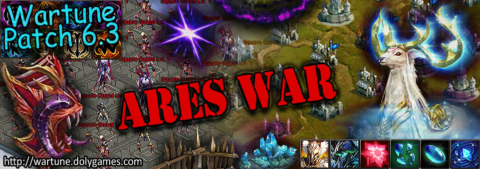 [Wartune Patch 6.3] Ares War