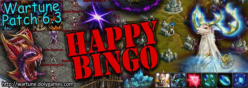 [Wartune Patch 6.3] Happy Bingo