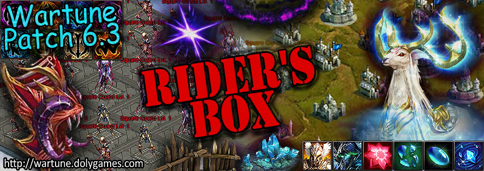 [Wartune Patch 6.3] Rider's Box