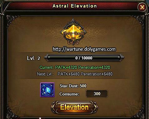 Astrals Elevation 6
