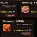 VIP Luxury Pack & Spirit Covenant Pack – Timing and Advice