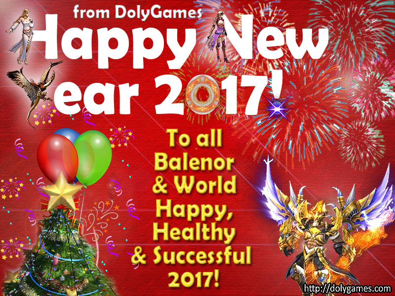 Happy New Year 2017 DolyGames