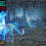 Maze Puzzle - Frost Unicorn's Escape