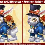Spot 10 Differences - Franken Rabbit Jan 2017