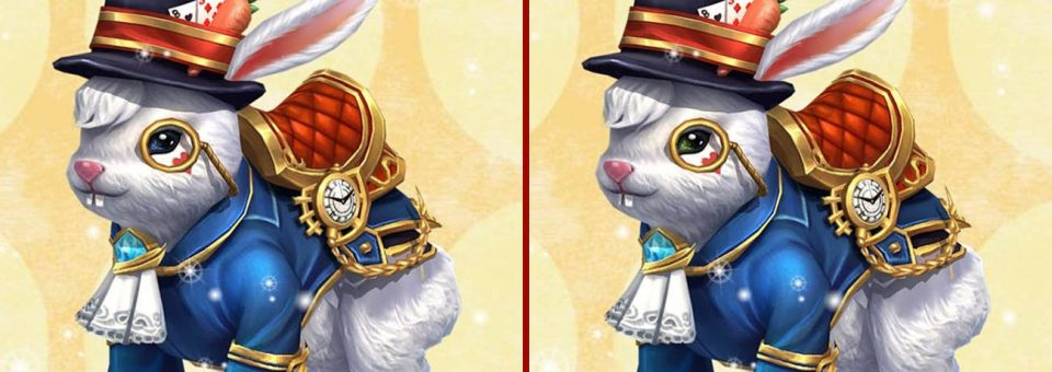 Spot 10 Differences – Bunny Lord