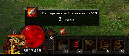 Wrath Strike damage reduction Wartune